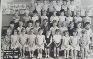 Foundation Year Photograph from 1967 ... Does anyone know any of these children?