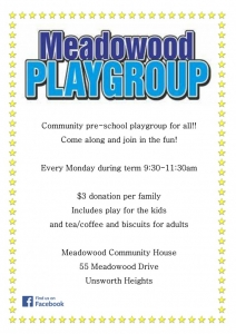 Playgroup ad